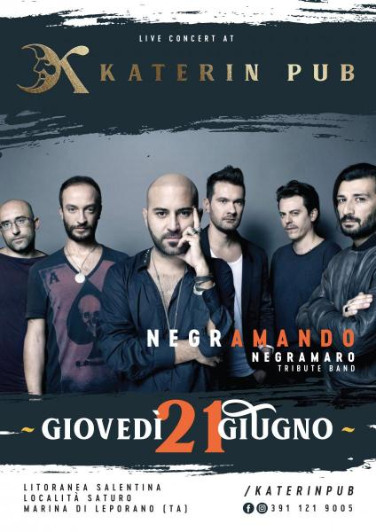 Negramando - Negramaro Tribute band - Live at KATERIN PUB