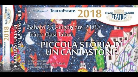 Piccola Storia di un Cantastorie per Oasi Tabor Teatro
