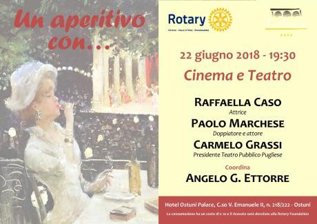 """""""Un aperitivo con... Cinema e Teatro"""""""
