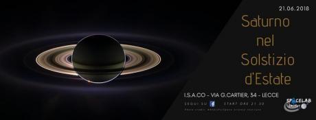 Saturno nel Solstizio d'Estate
