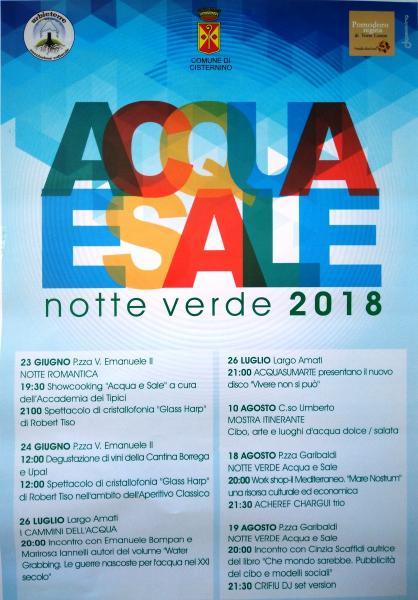 Acqua e Sale - Notte Verde 2018