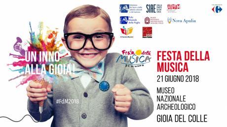 FESTA DELLA MUSICA 2018 - Museo Archeologico e Castello di GIOIA DEL COLLE