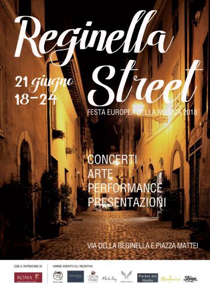 REGINELLA STREET Festa Europea della Musica 2018