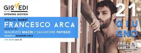 Via con i giovedì dell'Outline di Lecce, con Macrì e Patisso in consolle. Special guest Francesco Arca