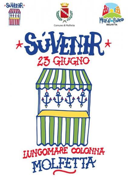 Week end di cantastorie, arte, folclore e vintage    Il 23 e 24 giugno Mercatincentro Molfetta ospita SùVenir e Cose di Vecchie Case