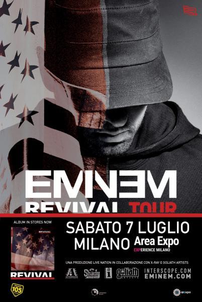 Eminem a Milano