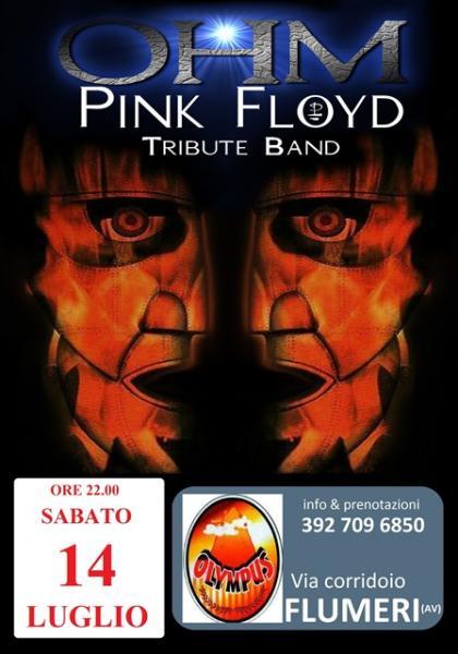 OHM PINK FLOYD LIVE - FLUMERI (AV) - OLYMPUS PUB