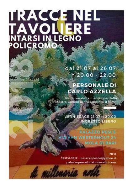 """""""Tracce nel tavoliere"""" - Personale di Carlo Azzella"""