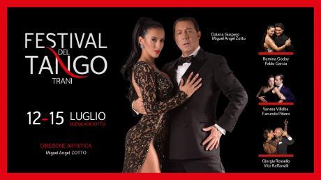 Festival del Tango, dal 12 al 15 luglio Trani ballerà al ritmo binario della sensuale danza argentina