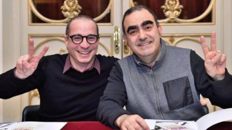 44° Festival della Valle d'Itria - Figaro su, Figaro giù…! Rossini e il Barbiere: tutta un'altra storia con la partecipazione straordinaria di Elio e Francesco Micheli