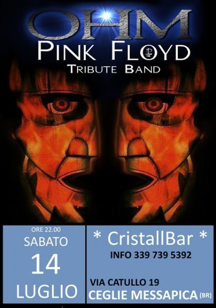OHM PINK FLOYD LIVE - CEGLIE MESSAPICA (BR) - CristallBar