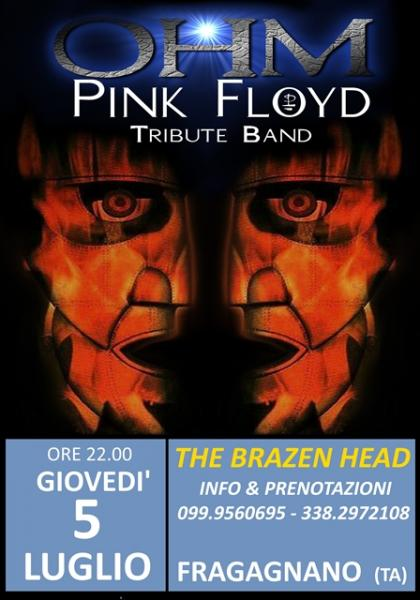 OHM PINK FLOYD LIVE - FRAGAGNANO (TA) - THE BRAZEN HEAD