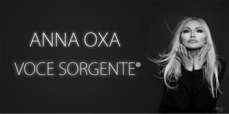 """Anna Oxa """"Voce sorgente tour"""""""