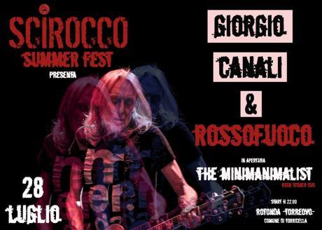Giorgio Canali&Rossofuoco live - Scirocco Summer Fest