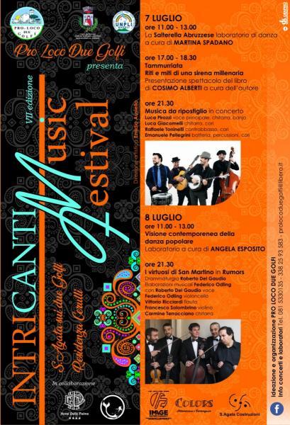INTRICANTI MUSIC FESTIVAL 2018 VII edizione