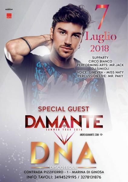 Dal 7 luglio riparte la grande discoteca di Ginosa Marina