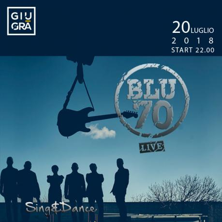 Blu 70 Band in concerto