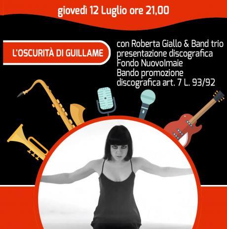 Festival Note di Notte - Roberta Giallo con L'oscurità di Guillame