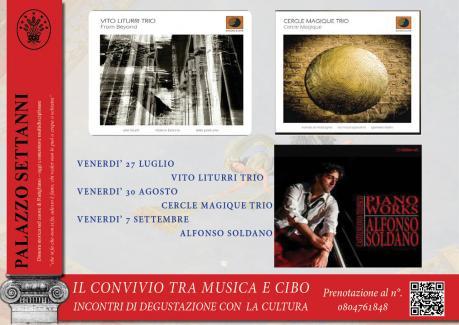 IL CONVIVIO TRA MUSICA E CIBO - RUTIGLIANO - PALAZZO SETTANNI