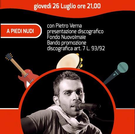 Festival Note di Notte - Pietro Verna con A piedi nudi