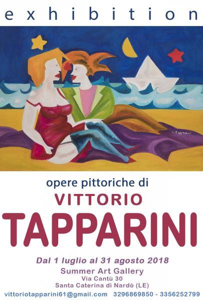 Exhibition, l'arte di Vittorio Tapparini davanti allo Ionio. Apre Summer Art Gallery