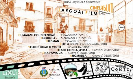 Largo ai Film! Rassegna cinematografica all'aperto