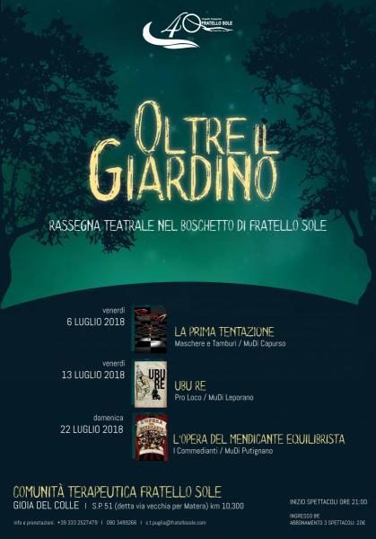 OLTRE IL GIARDINO // L'Opera del Mendicante Equilibrista