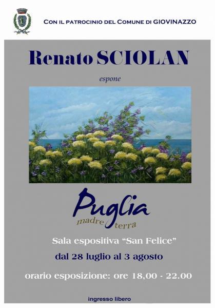 """Mostra personale artista Renato Sciolan - Puglia """"Madre terra"""""""