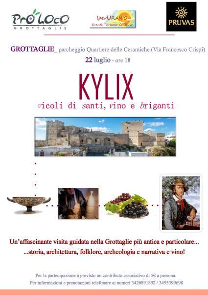 KYLIX: vicoli di santi, vino e briganti
