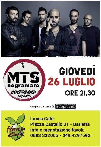 MTS Negramaro coverband salento a Barletta!