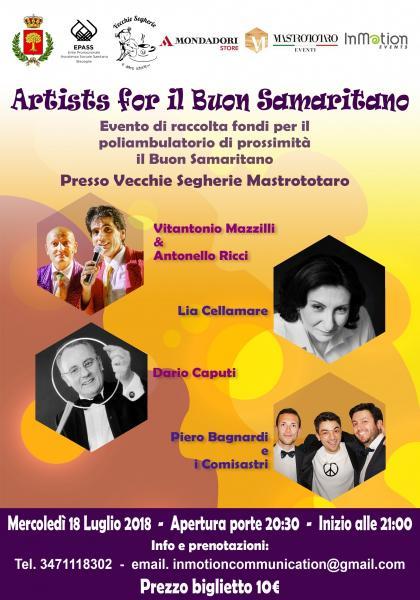 """Artists for """"il buon samaritano"""""""