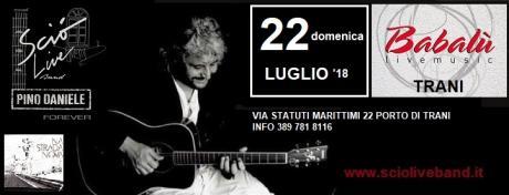 Sciò Live Band Pino Daniele Forever in concerto