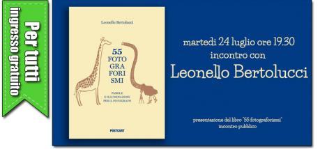"""Presentazione libro """"55 FOTOGRAFORISMI"""" di Leonello Bertolucci"""