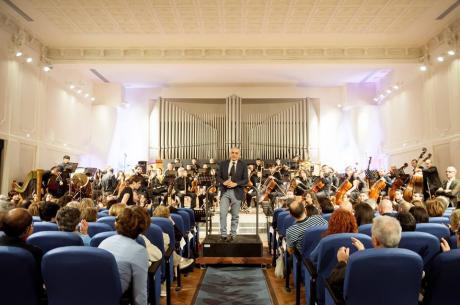 La musica risuona nelle Corti di Capitanata, con i Professori d'Orchestra di Santa Cecilia e la I edizione del Premio Corti di Capitanata