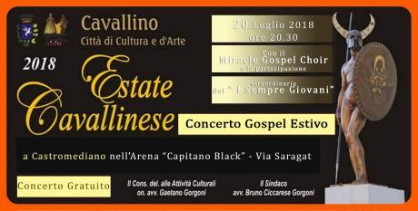 Concerto Gospel Estivo dei Miracle Gospel Chooir e de i Sempre Giovani