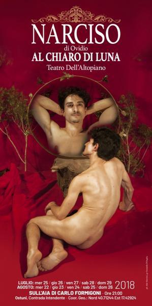 """""""Narciso"""" di Ovidio (al chiaro di luna)"""