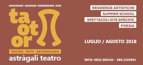 Taotor: Teatro Mito Archeologia - Metamorfosi - Donne che resistono alla violenza degli dei