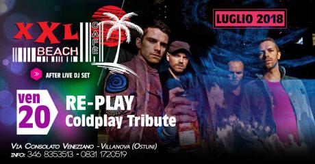 Re-Play Coldplay Tribute at XXL Beach Cafe