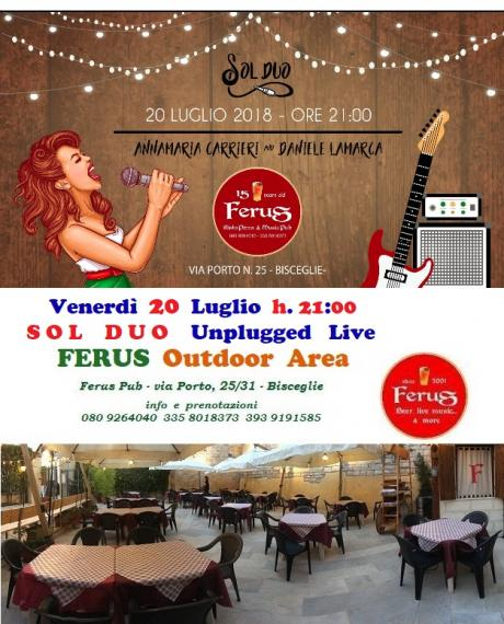 """""""SOL DUO"""" Unplugged Live at FERUS"""