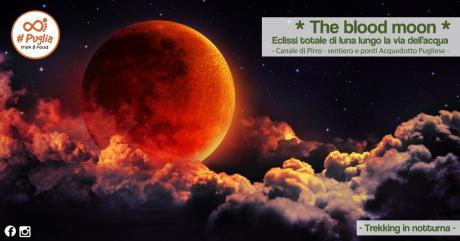 The Blood Moon - Eclissi totale di luna lungo la Via dell'Acqua