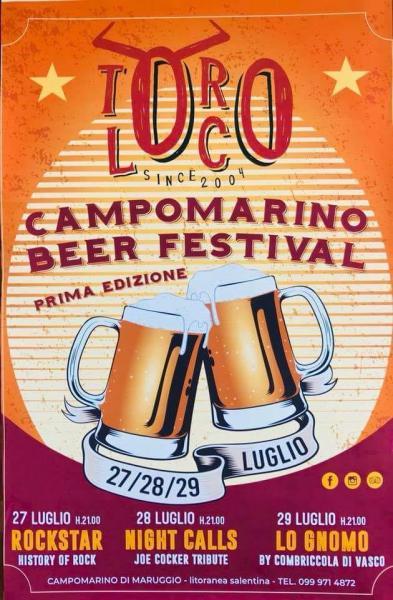 CAMPOMARINO BEER FESTIVAL 1^ EDIZIONE AL TORO LOCO