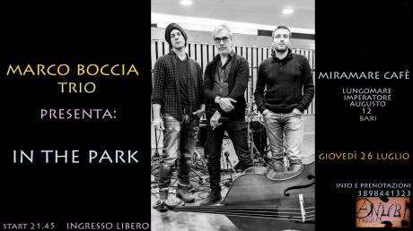 Marco Boccia Trio presenta: In The Park
