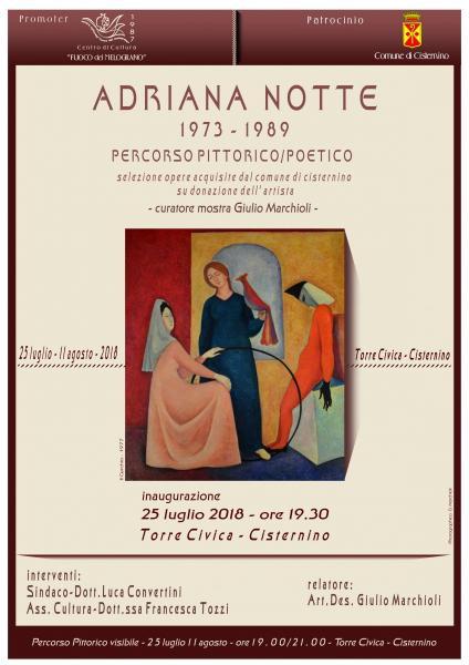 Adriana Notte - Percorso pittorico-poetico