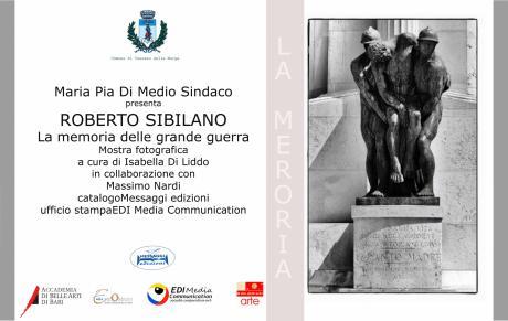 Mostra Fotografica – la Memoria della Grande Guerra in Puglia