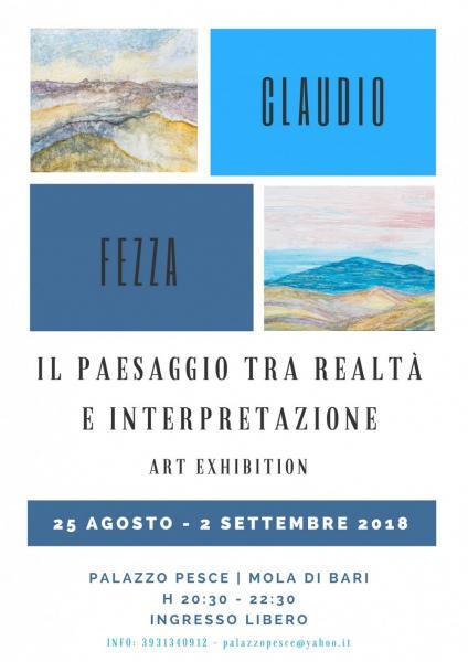 """""""Il paesaggio tra realtà e interpretazione"""" [Personale pittorica di Claudio Fezza]"""