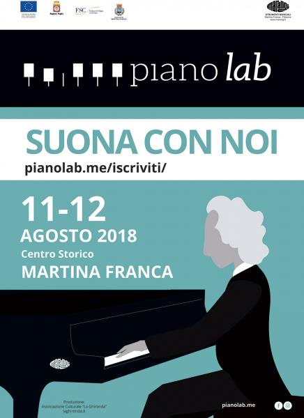 Piano Lab 2018 Promotional Event: Recital di Pasquale Iannone