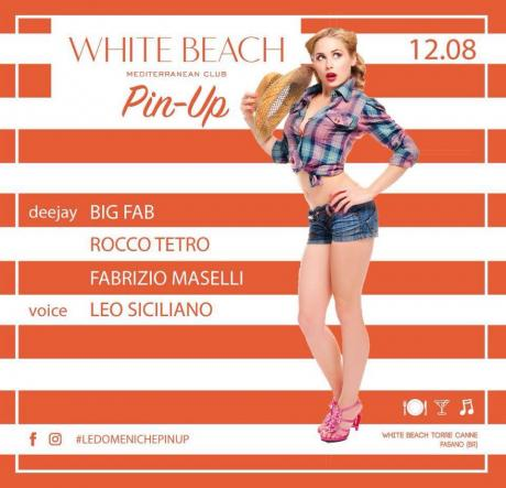 La Domenica Pin Up - 12 AGOSTO al White Beach di Torre Canne