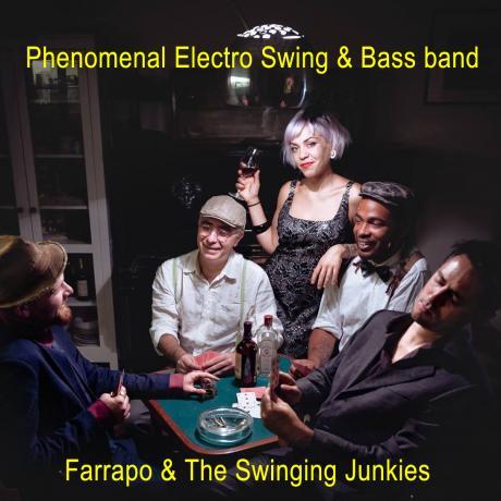 L'energia e il ritmo dei Farrapo & The Swinging Junkies, in concerto sabato 25 agosto a La'nchianata di Torricella (Ta)