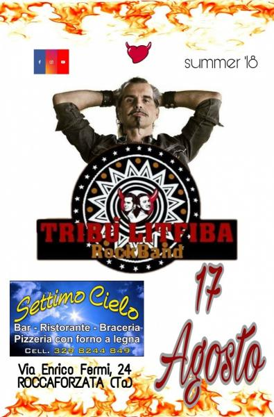 "Serata live con ""tribù LITFIBA RockBand"""