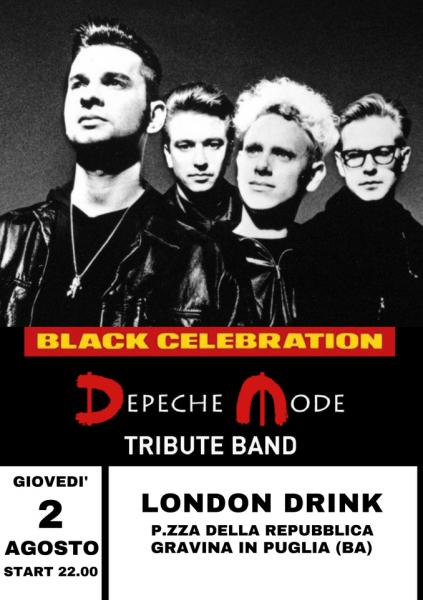 Black Celebration - Depeche Mode Tribute live al London Drink